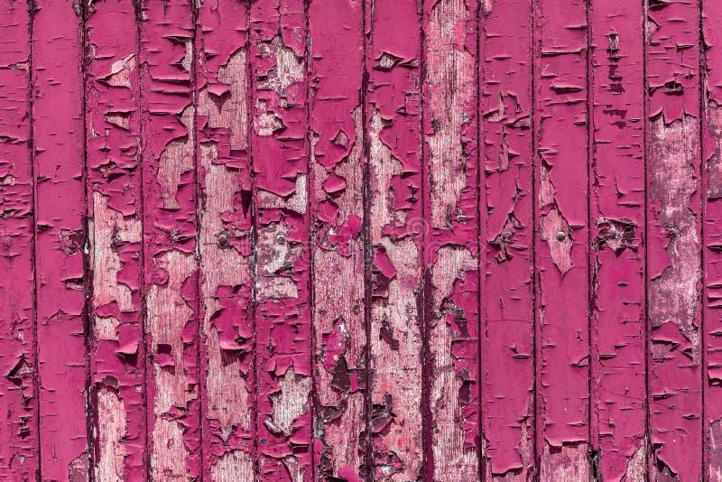 Краска на деревянной поверхности, краска с трещинами на деревянном фоне стоковая фотография rf