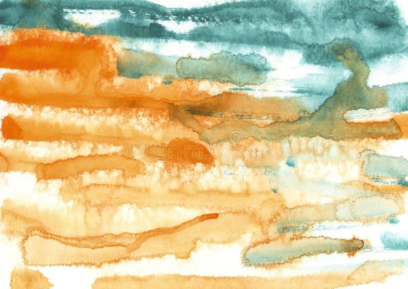 краска, предпосылка цвета, акварель, абстрактное tex цвета картины стоковое фото