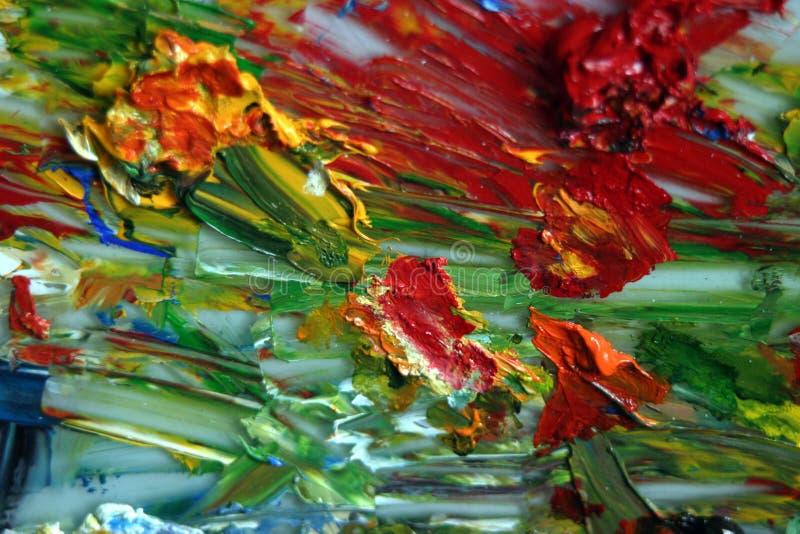 краска смеси стоковые фото