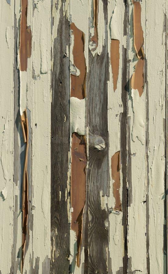 Краска слезая планки стоковое фото