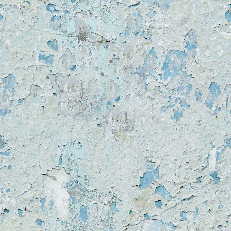 Краска шелушения на текстуре стены безшовной стоковое изображение