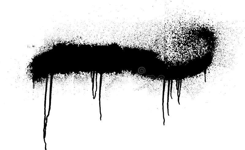 Краска для пульверизатора иллюстрация вектора