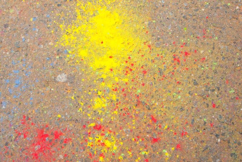 Краска Holi стоковое фото