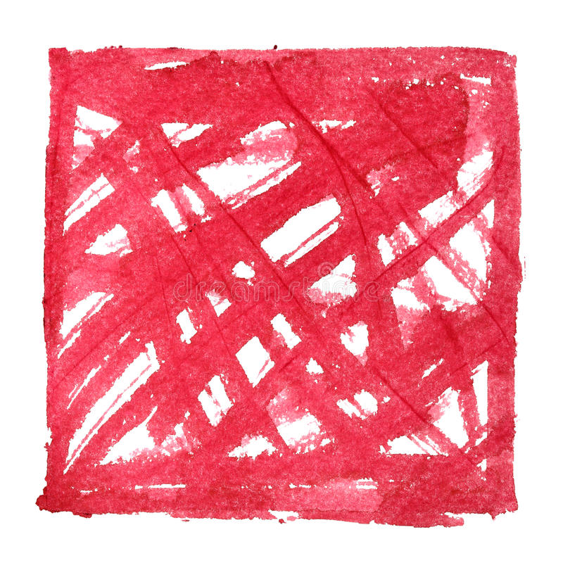 Красная абстрактная предпосылка с грубым shading бесплатная иллюстрация