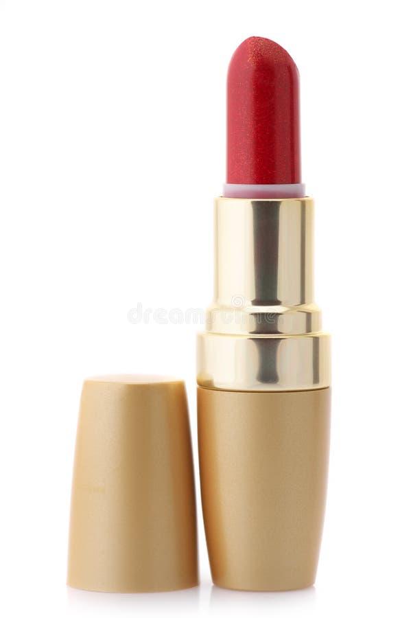 Красная губная помада стоковое изображение rf
