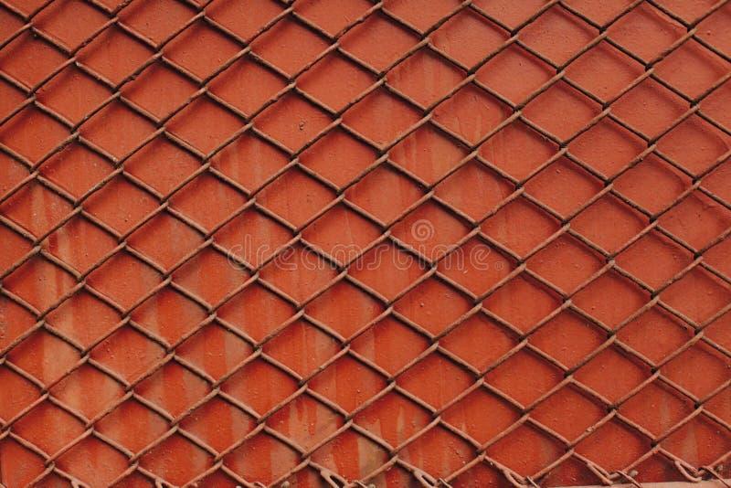 Красная загородка стоковые изображения rf