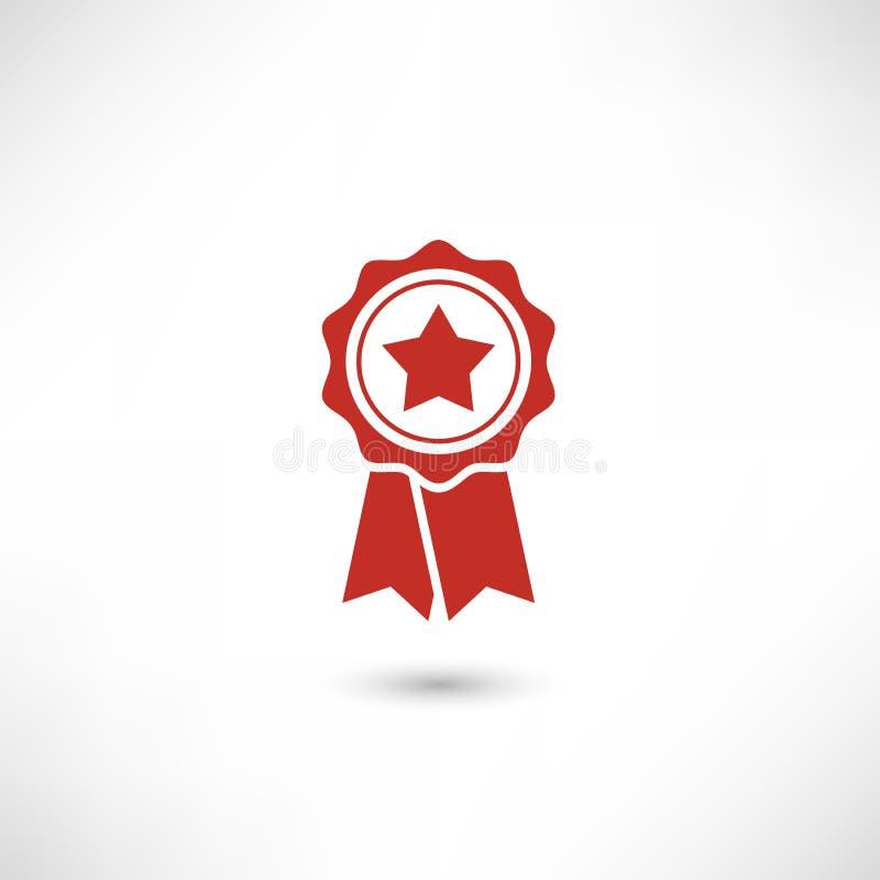 Красная звезда значка бесплатная иллюстрация