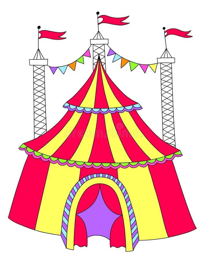 Рисунок о цирке шапито