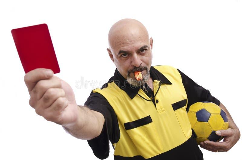 Красная карточка стоковые фото