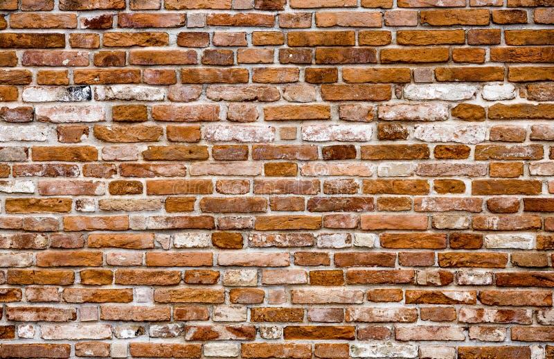 Красная кирпичная стена стоковое фото rf