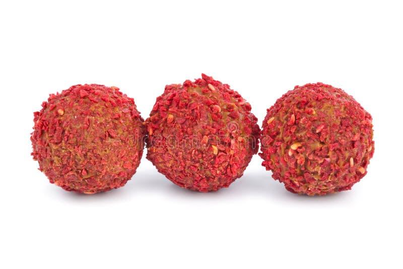 Красная конфета стоковая фотография