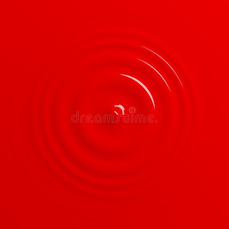 Красная кровь или краска понижаясь на поверхностную предпосылку бесплатная иллюстрация