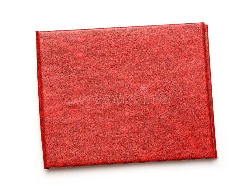 Красная крышка пустого документа стоковые изображения