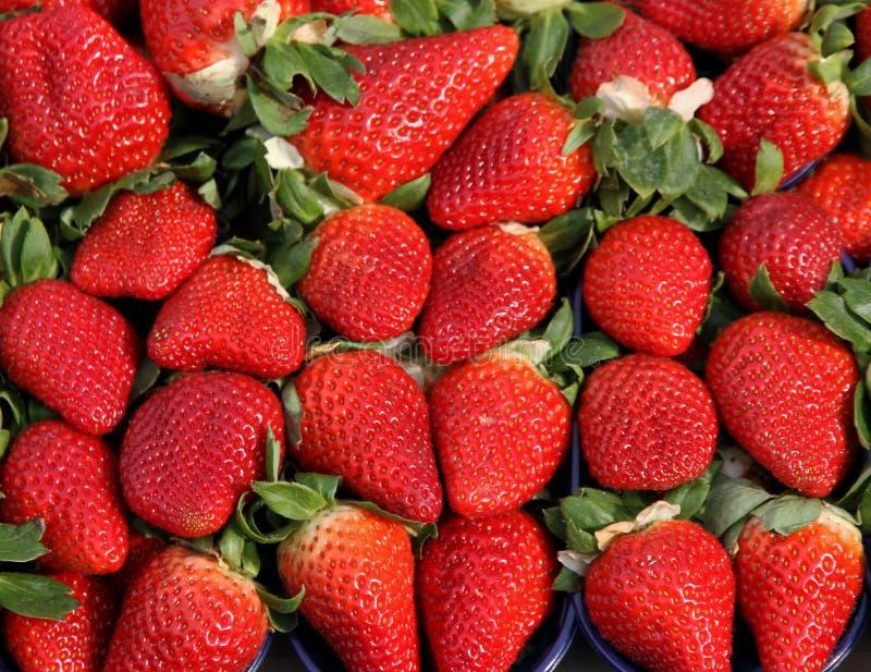 Download Красная клубника к наслаждению Gourmands Стоковое Фото - изображение насчитывающей рынок, текстуры: 37927764