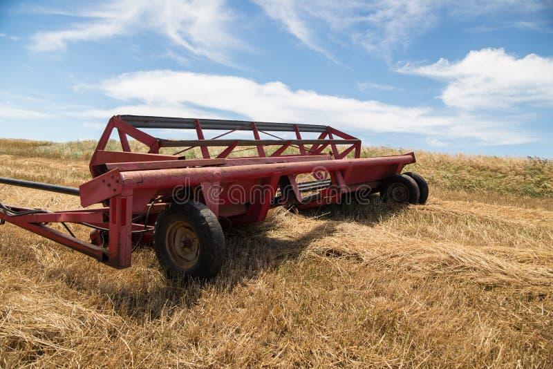 Красная машина сбора стоковые фотографии rf