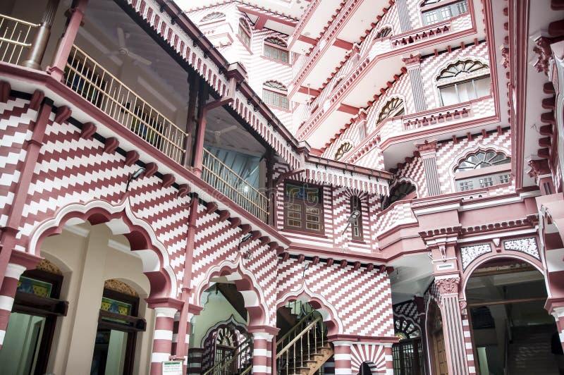 Красная мечеть стоковое фото rf