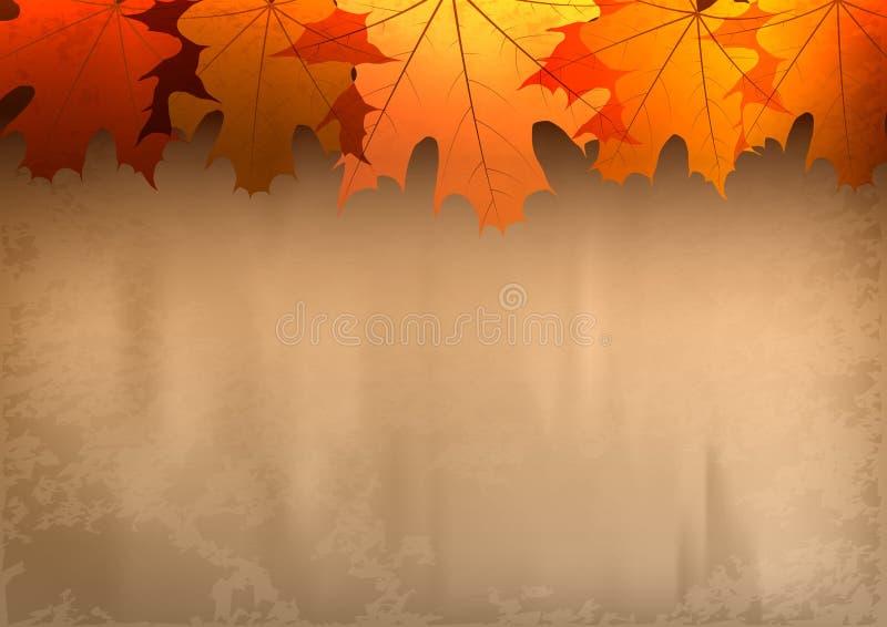Красная осень бесплатная иллюстрация