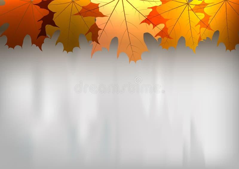 Красная осень иллюстрация штока
