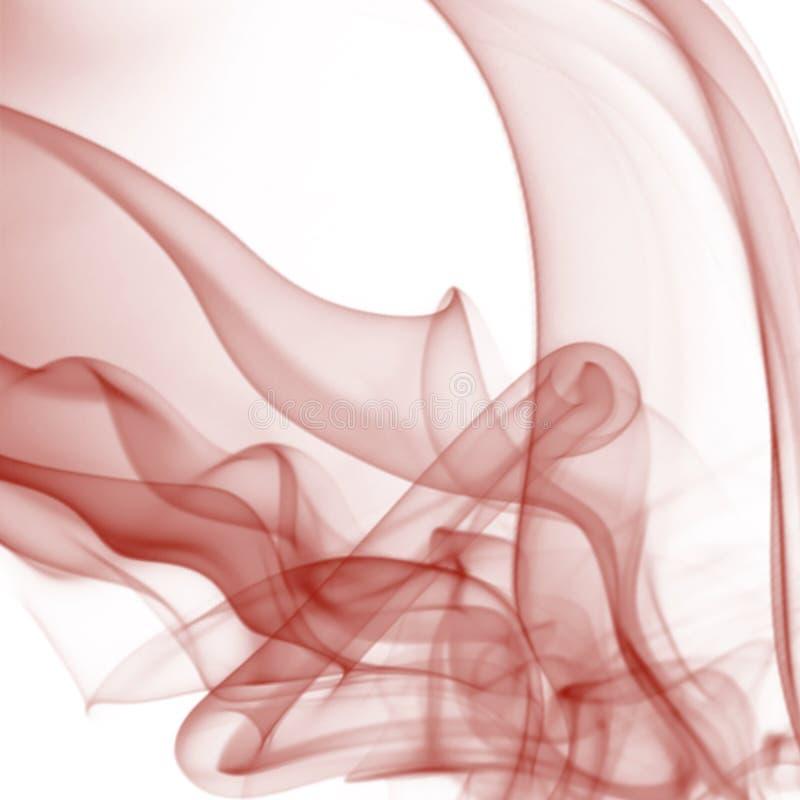 Красная предпосылка дыма стоковое фото rf
