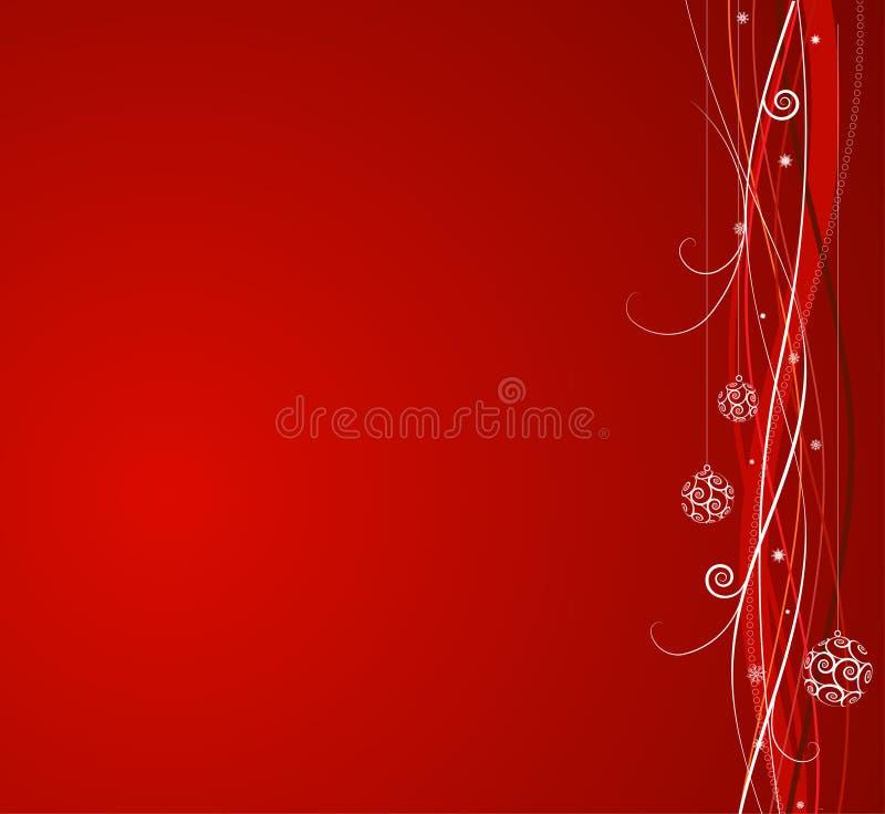 Красная предпосылка рождества