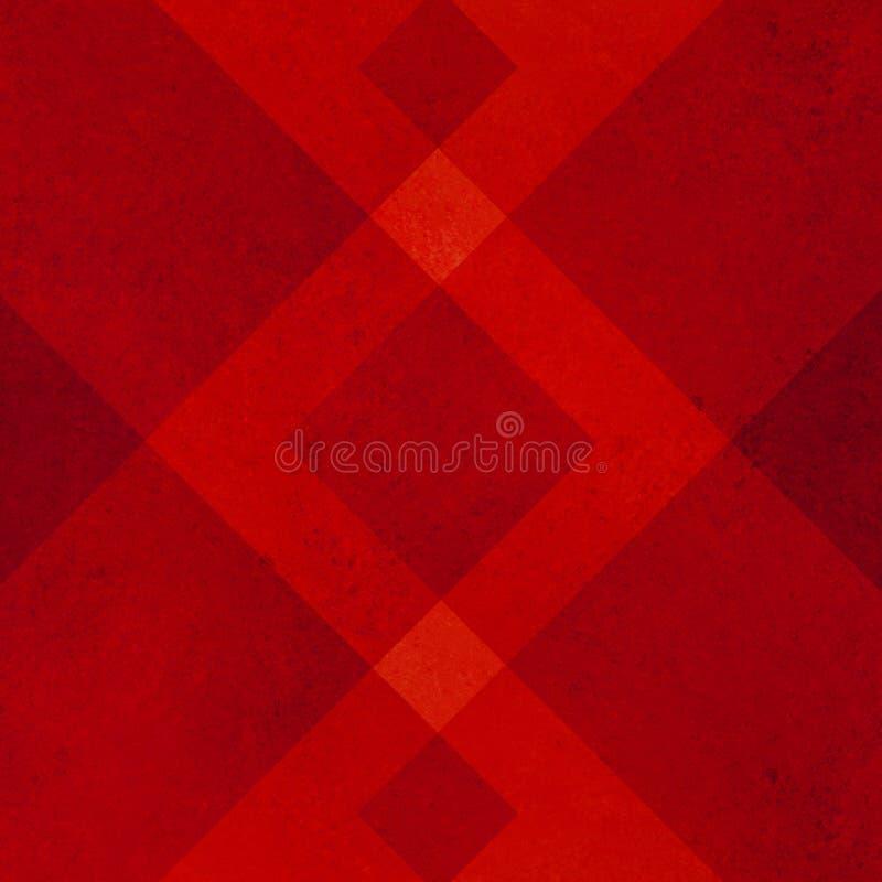 Красная предпосылка иллюстрация вектора