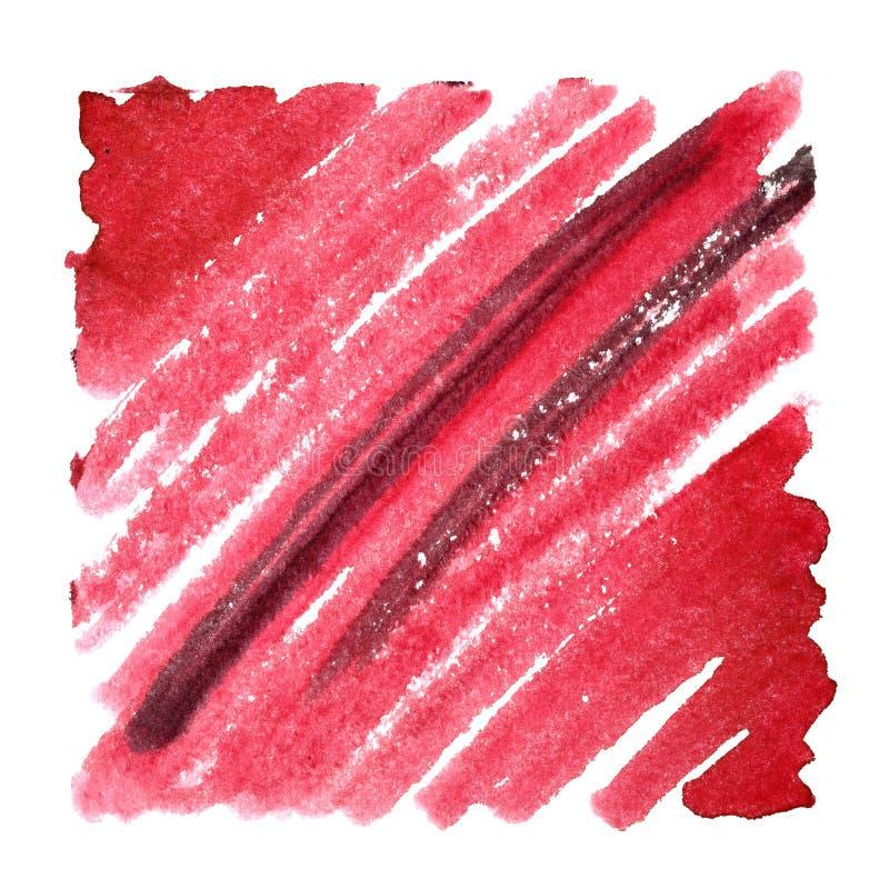 Красная предпосылка конспекта doodle стоковое фото