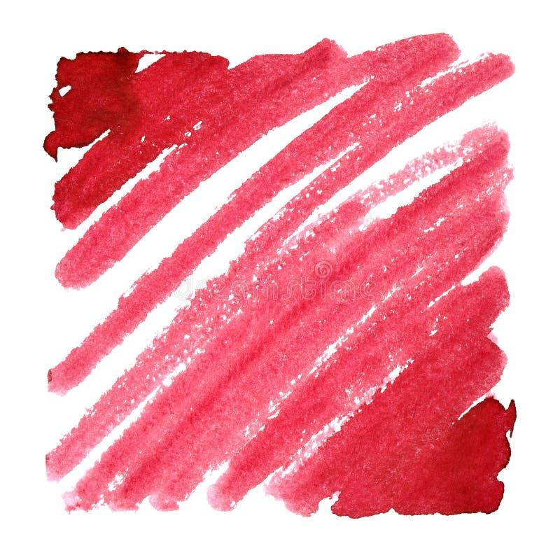 Красная предпосылка Doodle иллюстрация штока