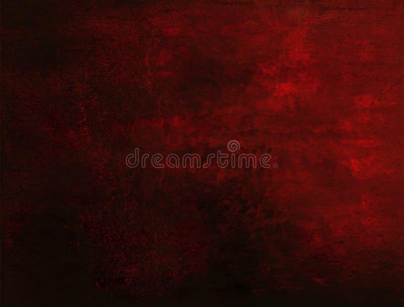 Красная предпосылка Grunge стоковое фото
