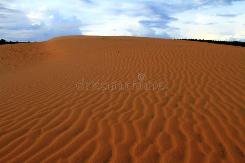 Красная пустыня стоковое изображение rf