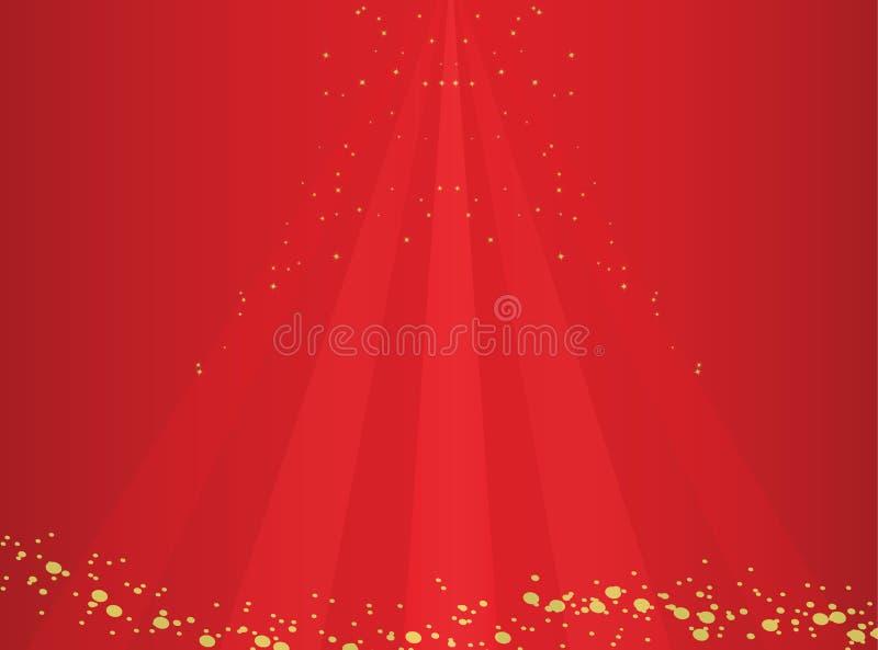 Красная роскошная предпосылка стоковое изображение
