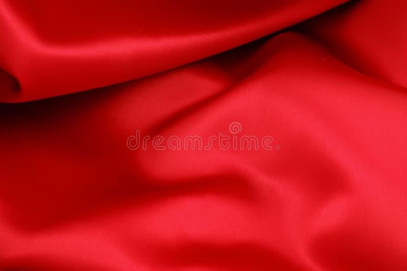 красная сатинировка стоковое фото rf