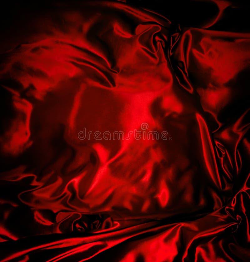 красная сатинировка стоковые фото