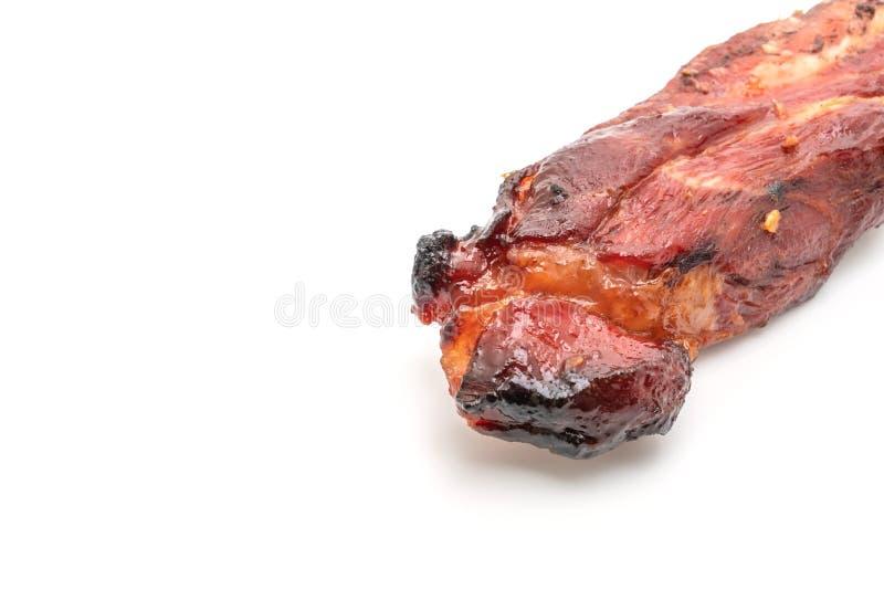 красная свинина жаркого барбекю стоковые фотографии rf