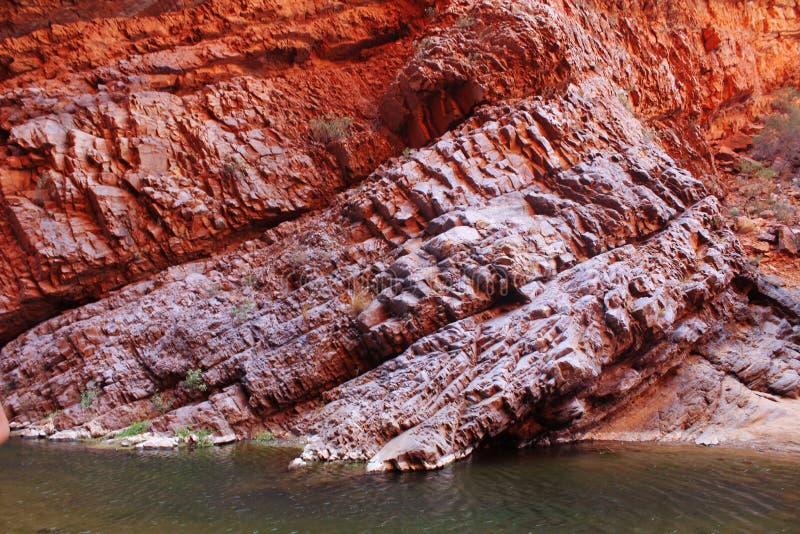 Красная скала стоковые фото