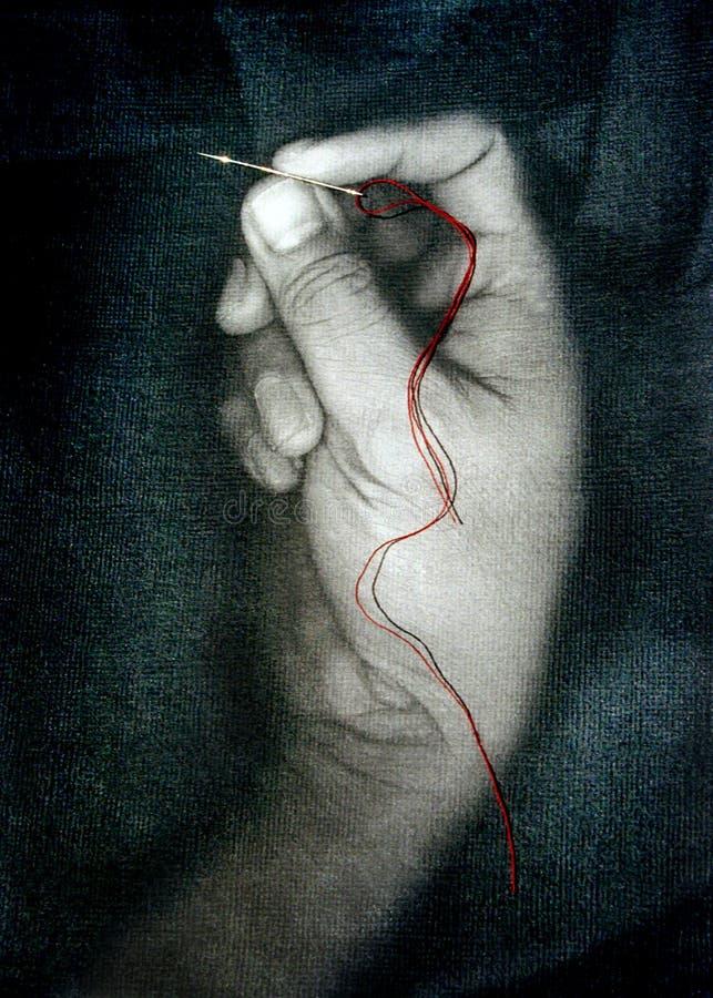 Красная строка стоковые фото