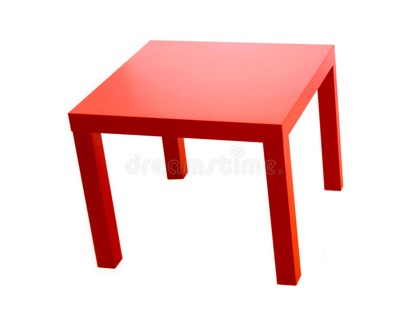 красная таблица стоковое фото