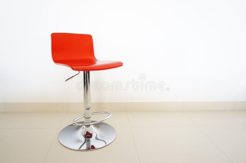 Красная табуретка штанги стоковые изображения rf