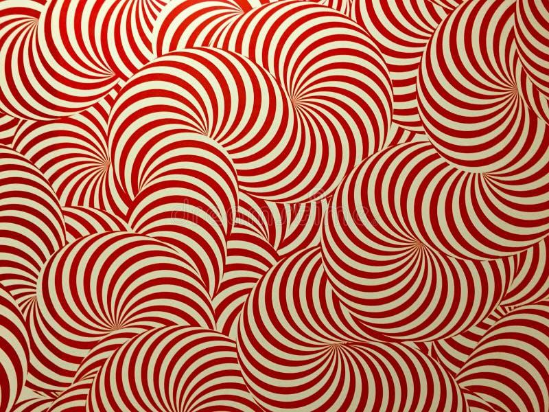 Красная текстура предпосылки круга стоковая фотография rf