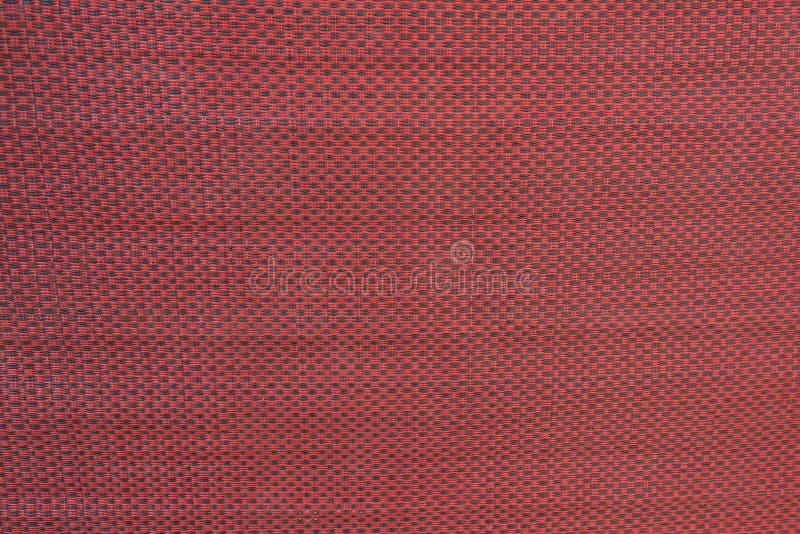 Красная текстура ткани стоковая фотография