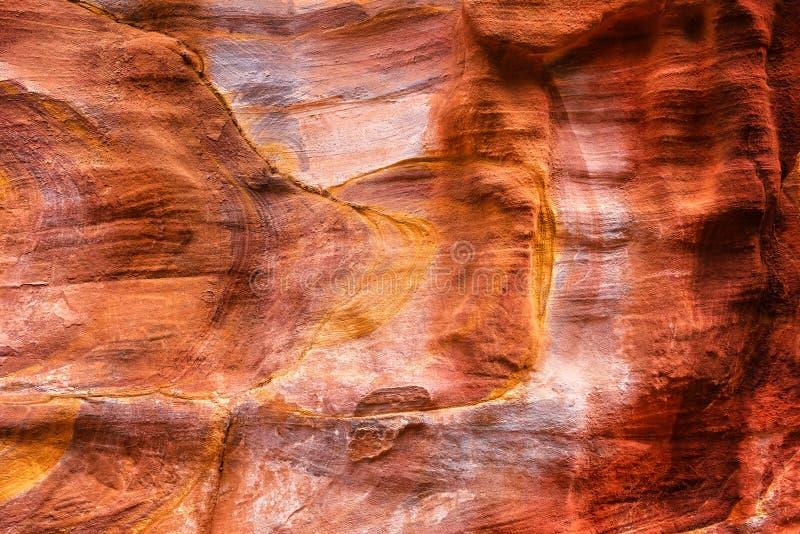 Красная текстура утеса стоковые фотографии rf