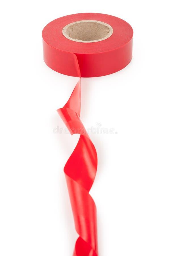 Красная электрическая конусность стоковые изображения