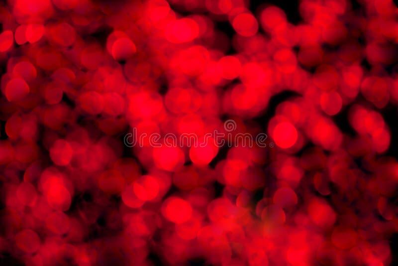 Красная defocused предпосылка стоковая фотография rf