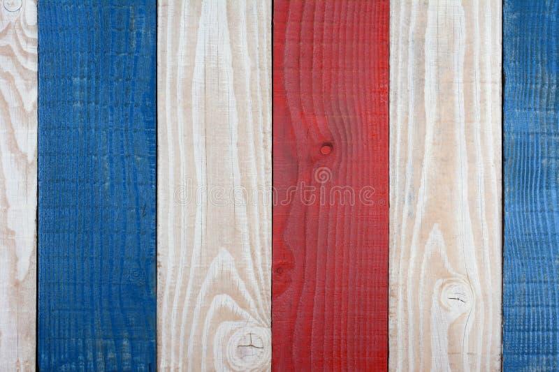 Красное белое и синь всходят на борт предпосылки стоковое фото rf