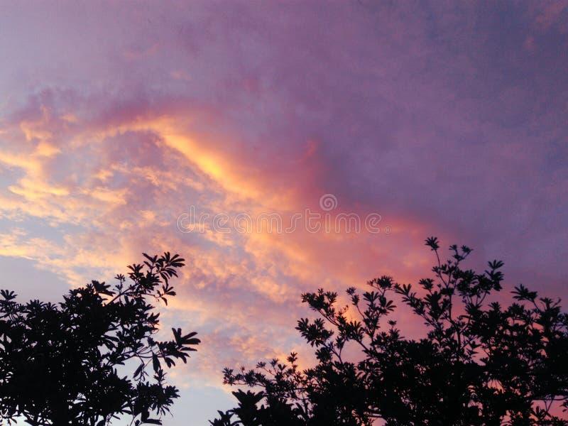 Красное облако стоковое изображение rf