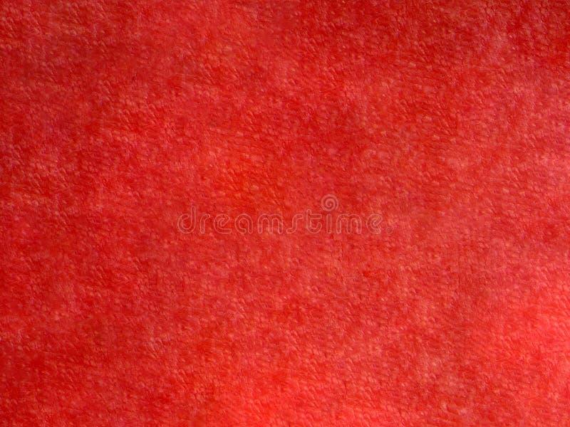 Красное полотенце Terry как предпосылка стоковые изображения rf