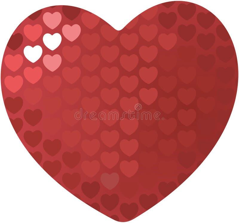 Красное сердце стоковые фотографии rf