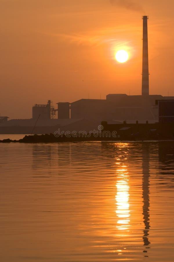 красное солнце стоковое фото rf