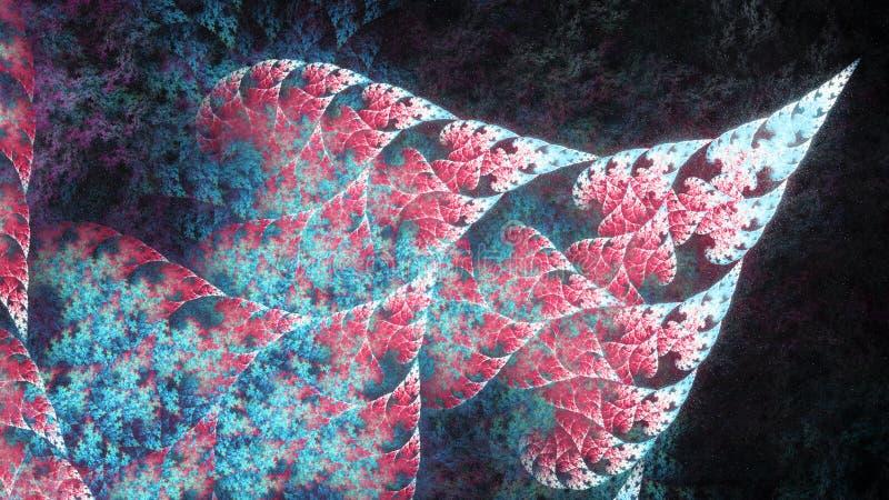 Красное сферически искусство фрактали пламени 2 стоковые фото