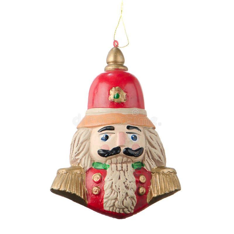 Красное украшение игрушки рождества стоковое изображение