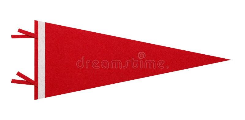 Красное Penant стоковое изображение rf